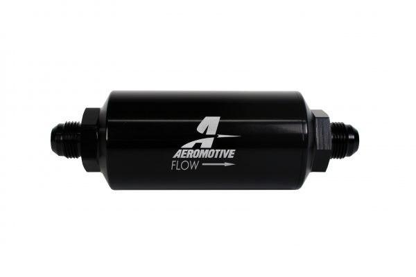 Filtr paliwa Aeromotive 10um AN8 Microglass - GRUBYGARAGE - Sklep Tuningowy